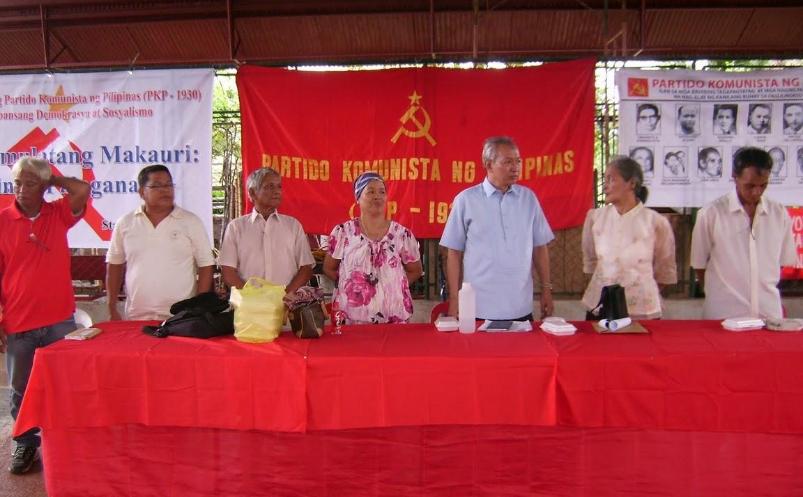 Президиум юбилейного митинга
