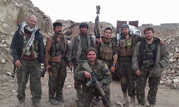 Бойцы-интернационалисты с курдскими товарищами в Сирии