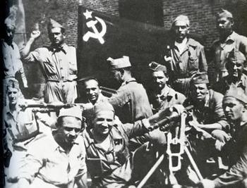 1936 год. Итальянские коммунисты в Испании