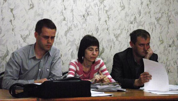 Юристы УАЗа (слева направо): Науменко, Анохина, Горбачев